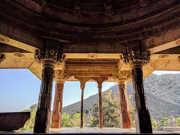 Detail of Bhangharh Fort