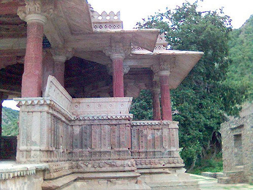 Temple in Fort Bhangarh