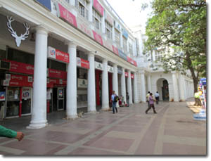 galerias de Connaught Place