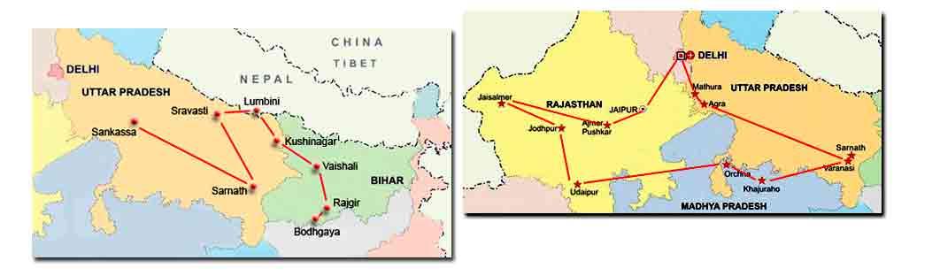 Itinerarios en tu viaje por India – Rutas