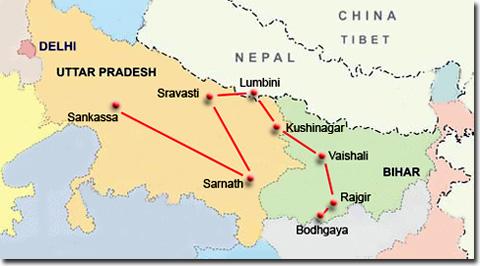 Un mes ruta budista por India: Itinerario 3 de viaje por India