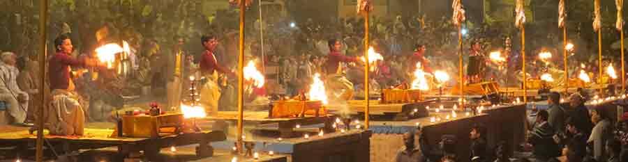 Aarti en India : Religion con Viaje por India