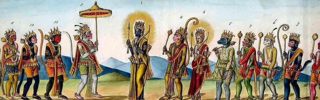 Protagonistas del Ramayana : Dioses y la religión con Viaje por India