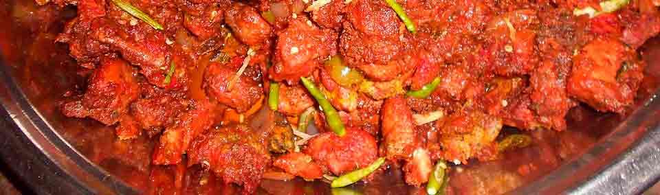 Carnes recetas en la gastronomía de Viaje por India