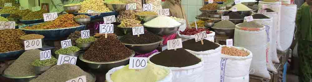 Especias en la gastronomía con Viaje por India