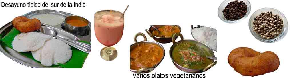 Glosario gastronómico en Hindi con Viaje por India