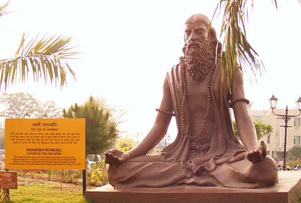 Patanjali en Yoga con Viaje por India