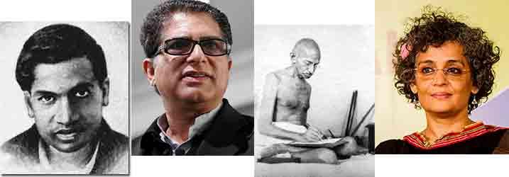 Personajes destacados en la India
