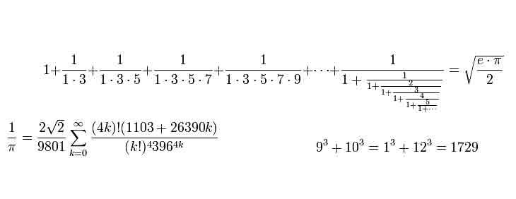 Mente matemática de Srinavasa Aiyangar Ramanujan