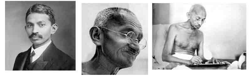 Gandhi, el Bapu o Mahatma de la India