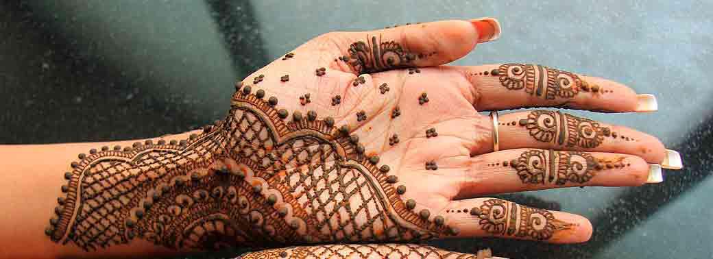 Uso de Henna en la India