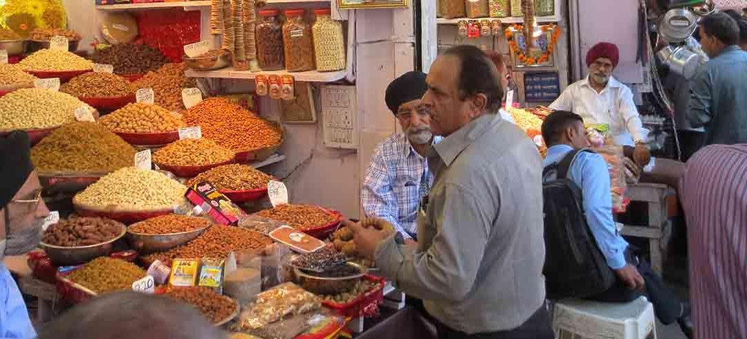 Mercados en Nueva Delhi