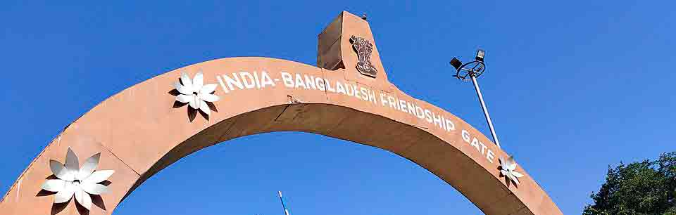 Un muro de separación entre India y Bangladesh