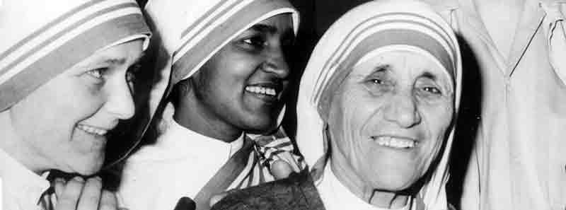 Madre Teresa de Calcuta con Viaje por India