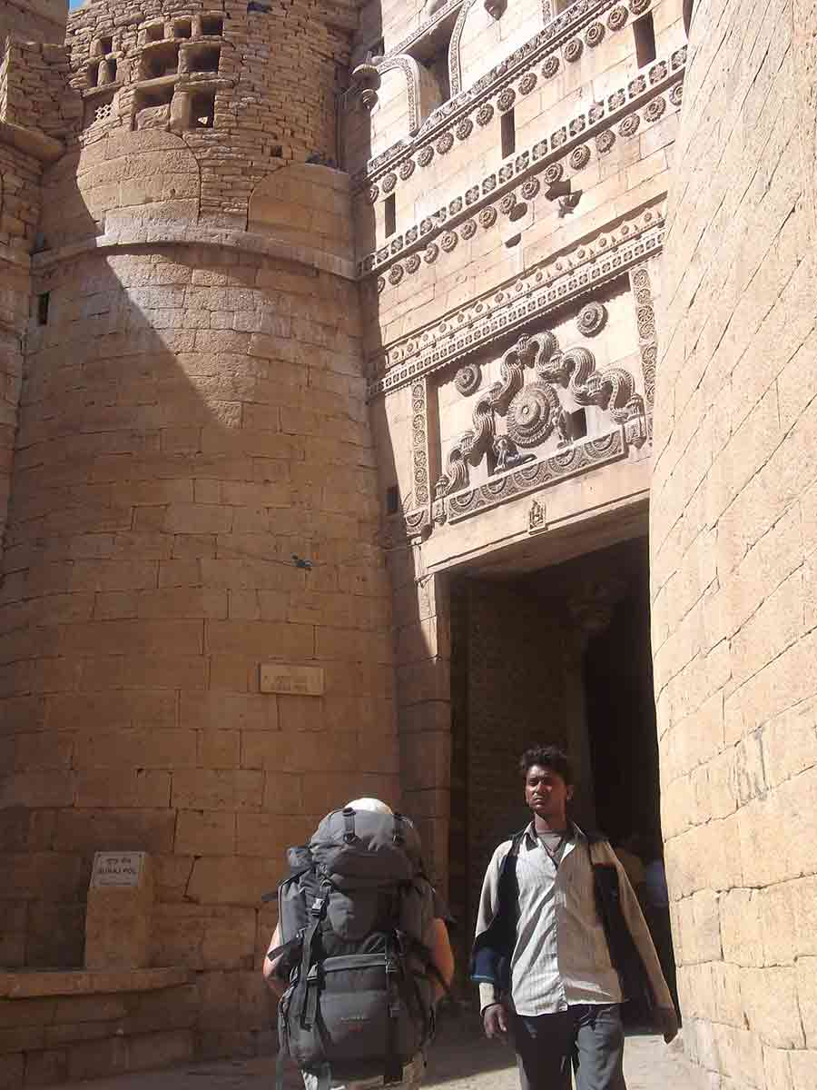 Puerta del Fuerte de Jaisalmer