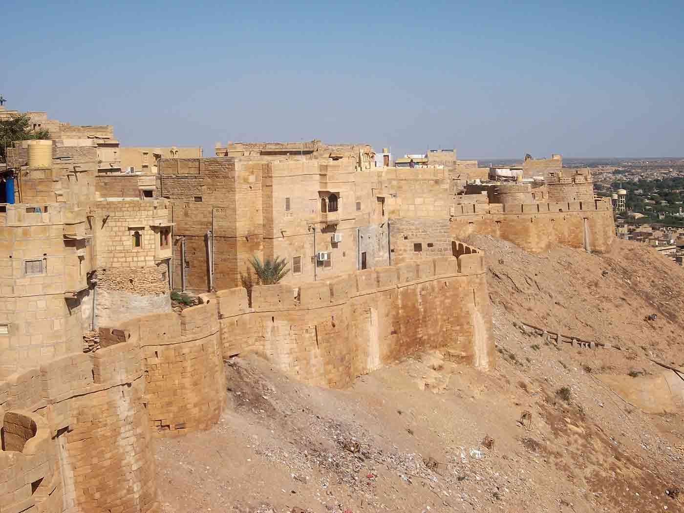 Murallas del Fuerte Jaisalmer