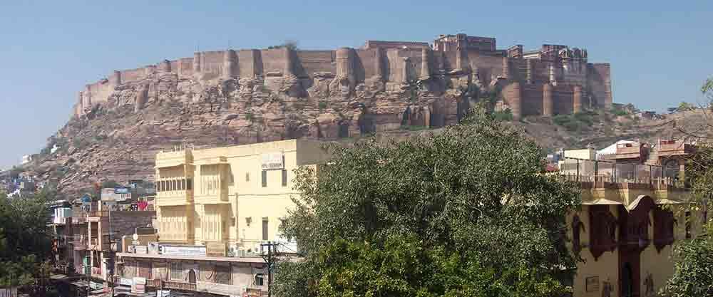Murallas del Fuerte Mehrangarh