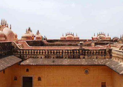 Tejados de Fuerte de Nahargarh