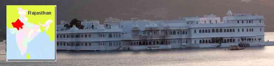 Palacio del lago de Udaipur