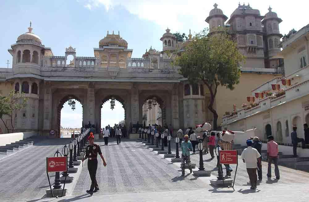 Entrada Palacio Udaipur