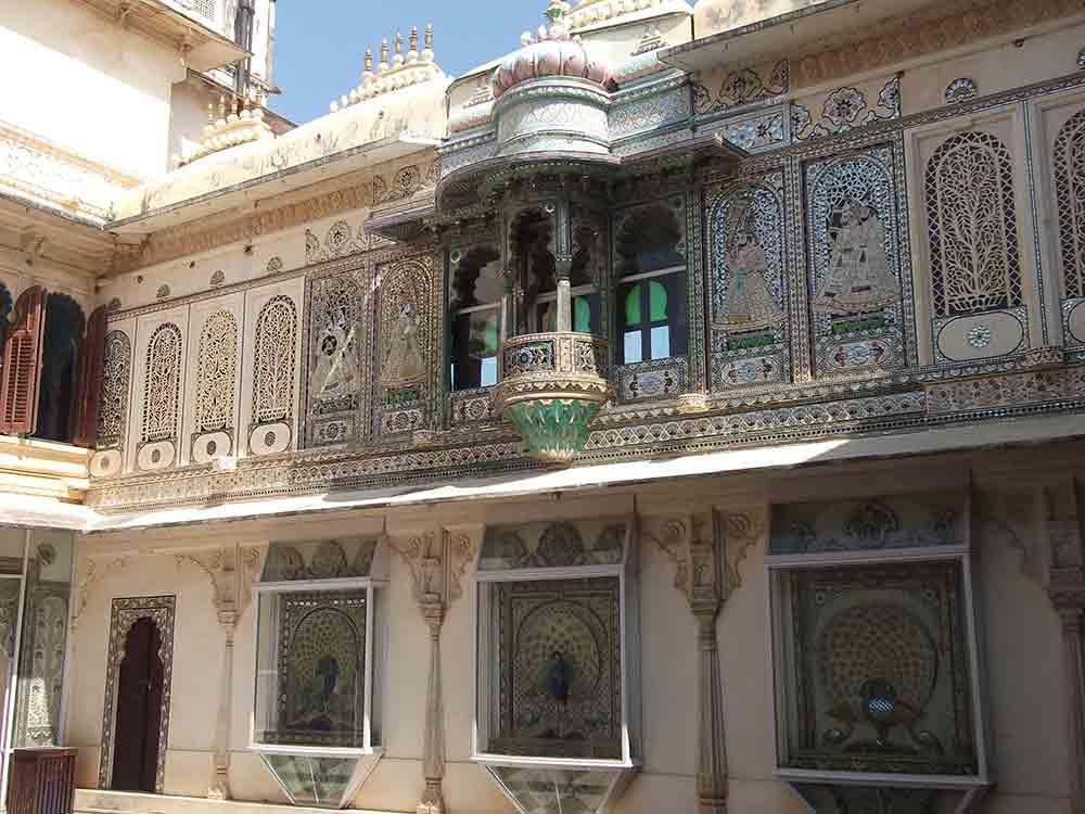 Interior Palacio de Udaipur