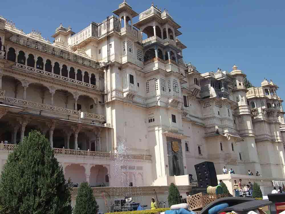 Exterior Palacio de Udaipur