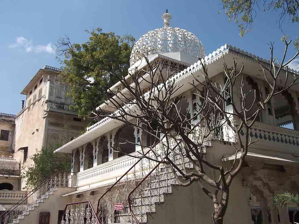 Edificio en Palacio Udaipur