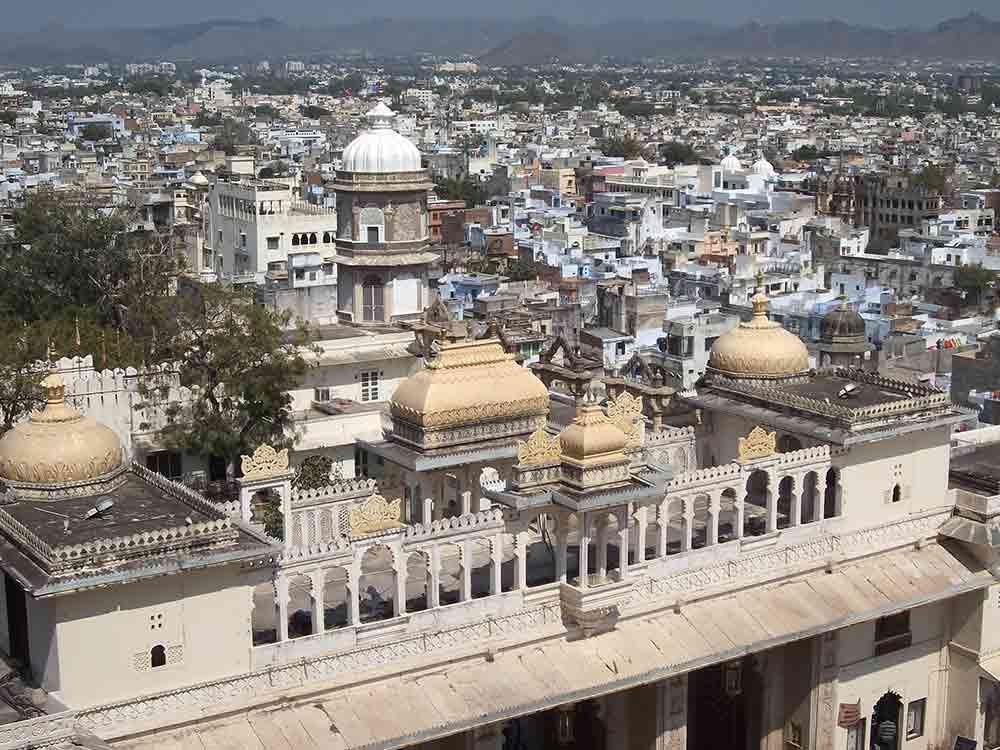 Tejados de Udaipur