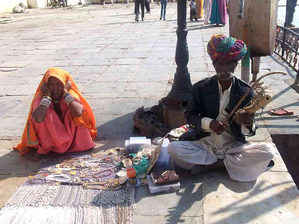 Músico en Udaipur