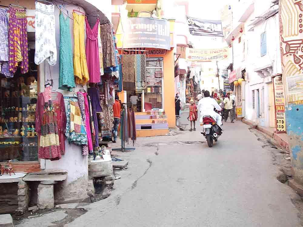 Calle de Udaipur