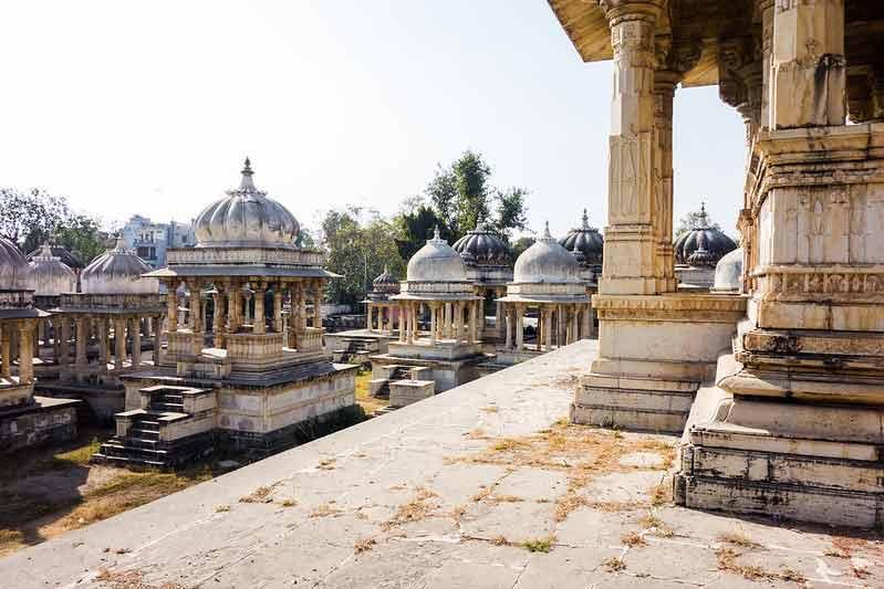 Cenotafios de Udaipur