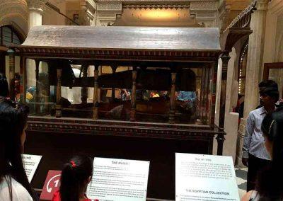 Momia en el museo Albert Hall Jaipur