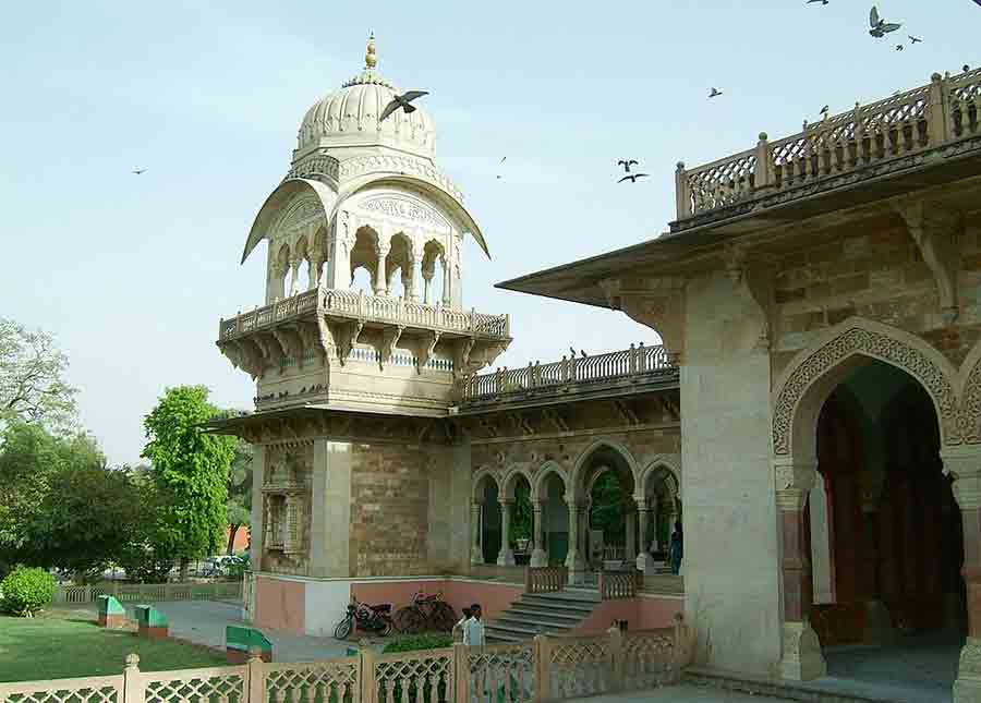 Edificio Albert Hall de Jaipur
