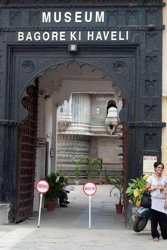 Entrada museo Bagore Ki Haveli