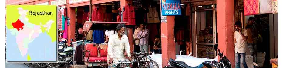 Bazares en Jaipur en Viaje por India: mercados de Jaipur