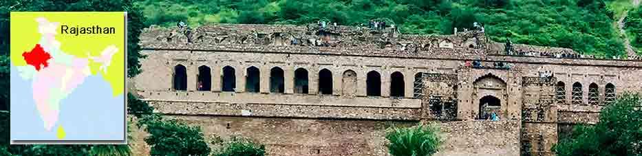 Fuerte Bhangarh cerca Jaipur