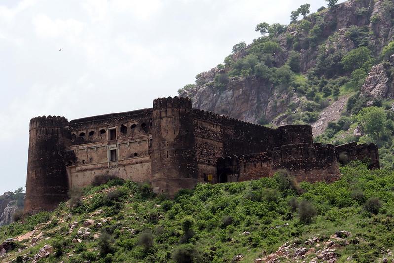 Exterior Fuerte Bhangarh