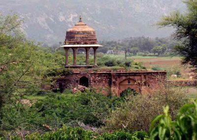 Edificio en el Fuerte Bhangarh