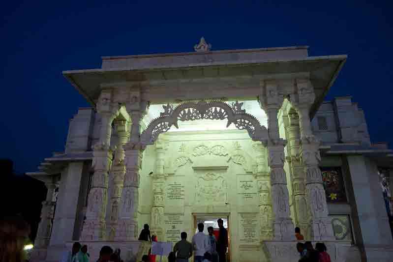 Templo Birla Mandir en Jaipur