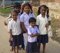 Niños de India
