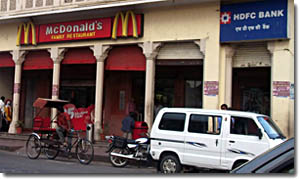 Mcdonald en Jaipur