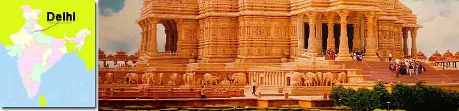 Templo Akshardham en Delhi