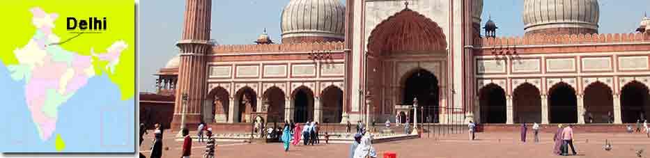 Jama Masjid : la mezquita de Delhi en Viaje por India