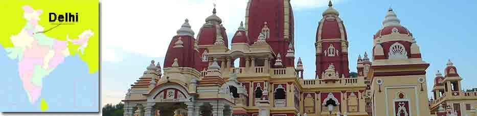 Laxminarayan o Birla Mandir Templo en Delhi