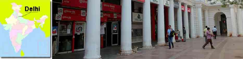 Delhi tiendas