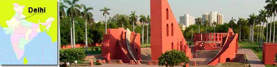 Jantar Mantar de Delhi en Viaje por India