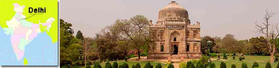 Jardines Lodi con Viaje por India