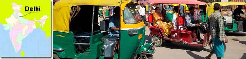Como moverse por Delhi con Viaje por India