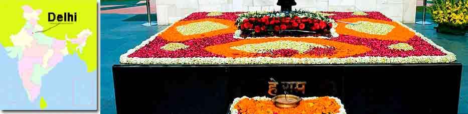 Raj ghat de Delhi en Viaje por India