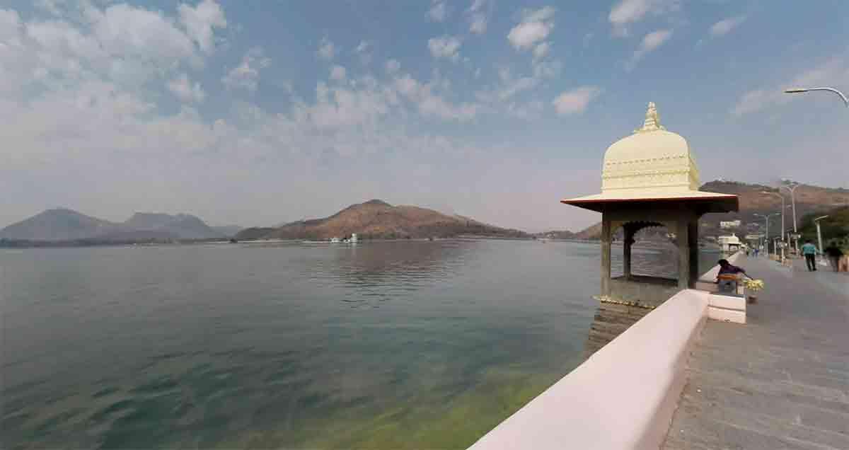 Lago Fateh Sagar Udaipur
